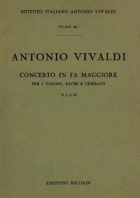 Concerto in fa maggiore. T. 88