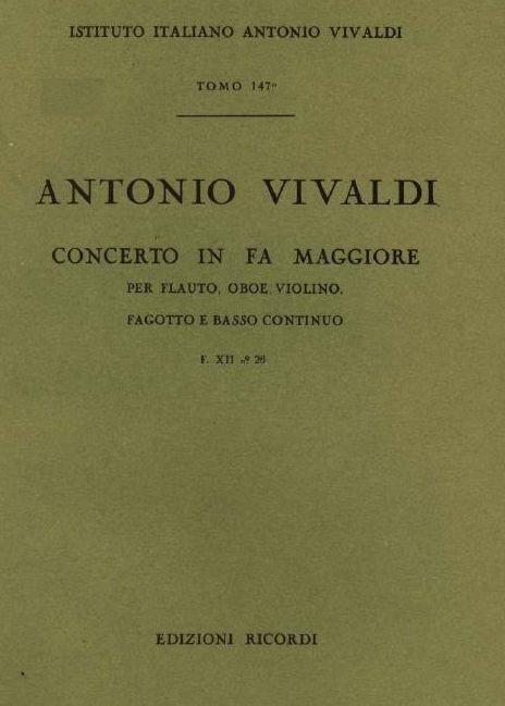 Concerto in fa maggiore. T. 147
