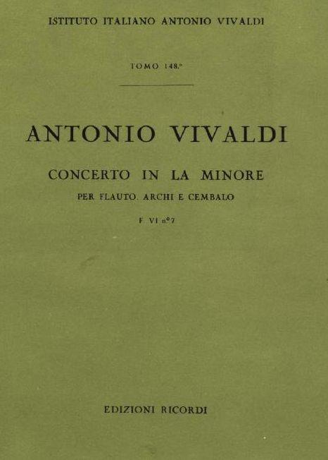 Concerto in la minore. T. 148